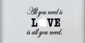 Beatles All you need is love Apple Macbook