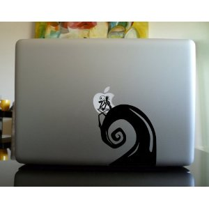 Nightmare Before Christmas Apple MacBook Decal Skin Sticker