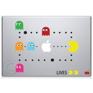 Pac Man Scene MacBook Decal Mac Apple Skin Sticker