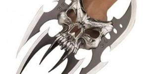 Skull-Mayhem Fantasy-Claw Dagger