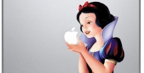 Snow White Apple Macbook