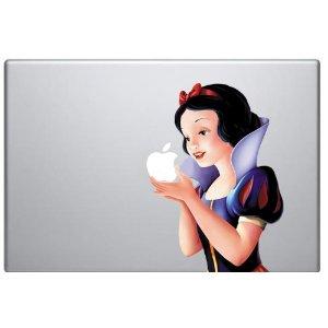 Snow White MacBook Decal Skin Sticker