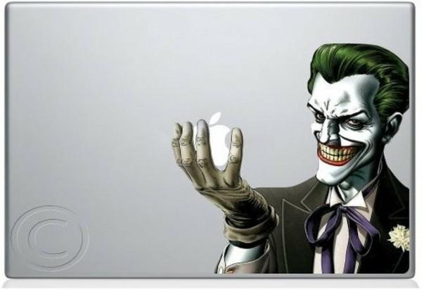 The Joker Apple MacBook Decal Skin Sticker