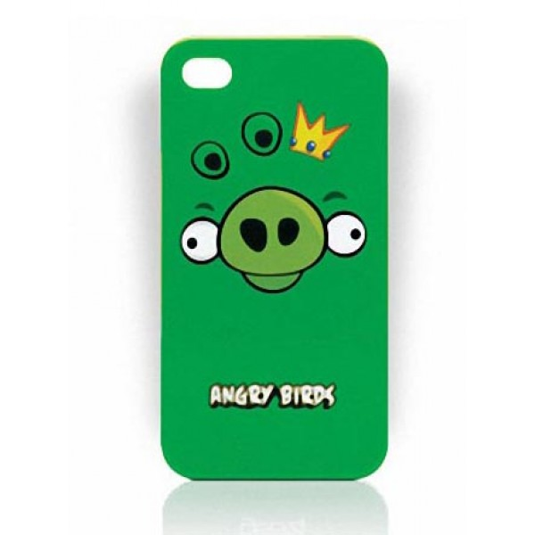 Angry Birds iPhone 4 Case Cover – Pig King