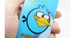 Angry birds iPhone cover blue bird