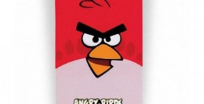 Angry birds iPhone cover red