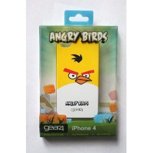 Angry Birds iPhone 4 Case Cover with Screen Protector