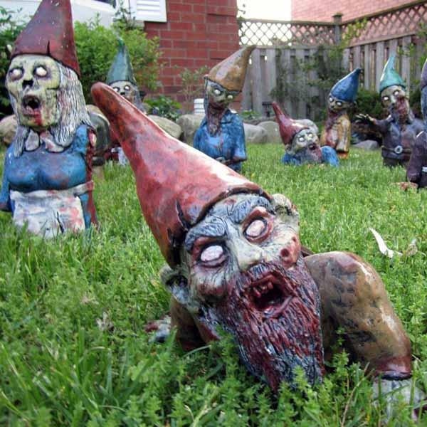 Garden Zombie Lawn Gnome