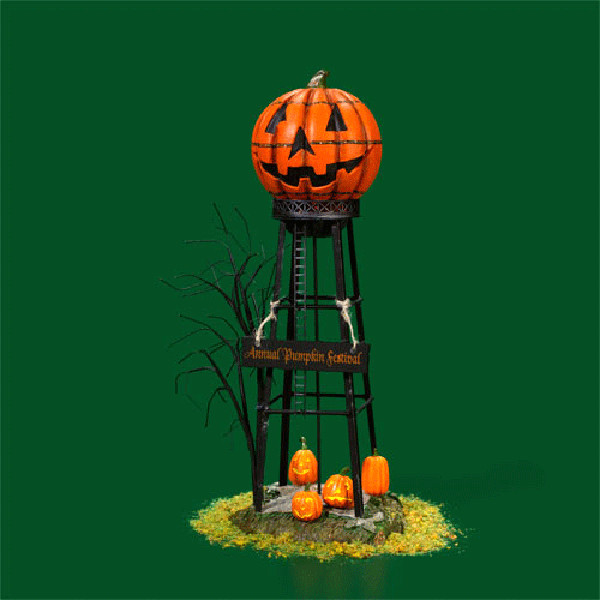 Water Tower Halloween Decoration