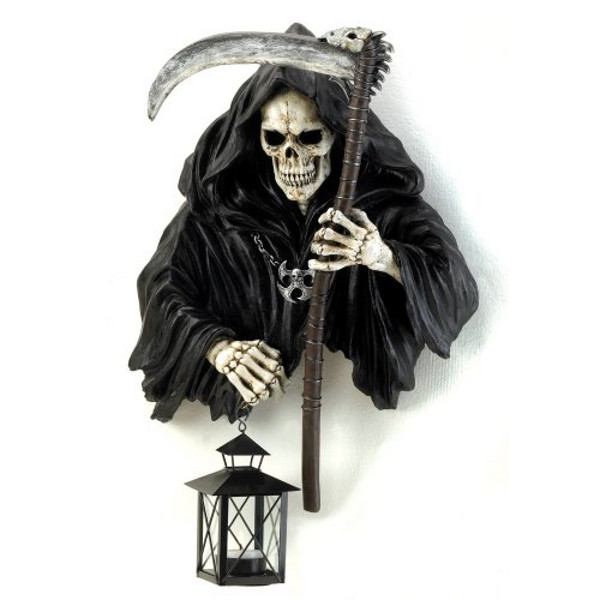 Grim Reaper Candle holder Halloween Decoration