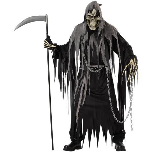 Grim Reaper Halloween Costume for Men