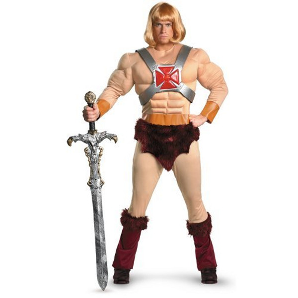 He Man Halloween Costume for Men