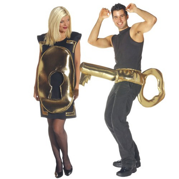 Lock and Key Halloween Costume  sc 1 st  Absolutely Needed & Top Selling Halloween Costumes for Couples 2016 | Absolutely Needed