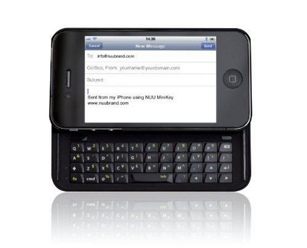 Iphone 4 and 4S Bluetooth Keyboard Black
