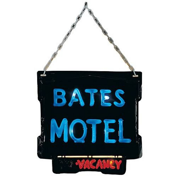 Psycho Hotel Sign Halloween Decoration