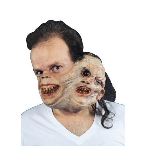 Twosome Gruesome Scary Halloween Mask