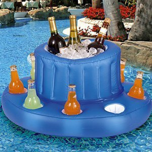 Inflatable Pool Bar Absolutely Needed