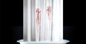 Bloodbath Shower Curtain