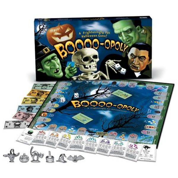 Boo-Opoly Halloween Board Game