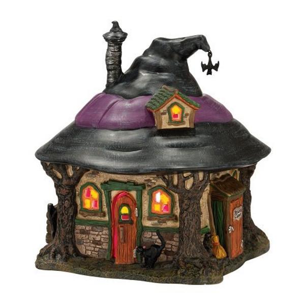 Halloween Snow Village Witch House