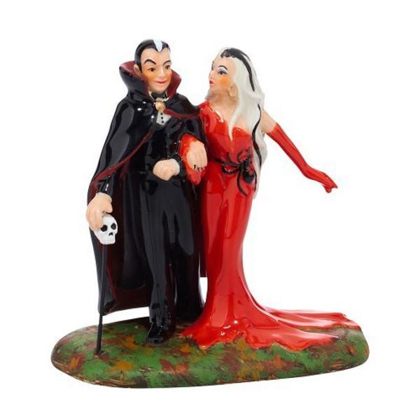 Halloween Village Vampire Couple