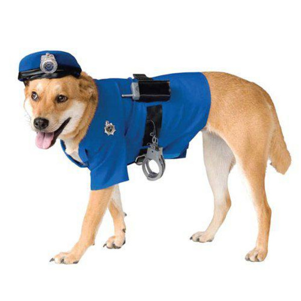 Police Dog Halloween Costume for Dogs