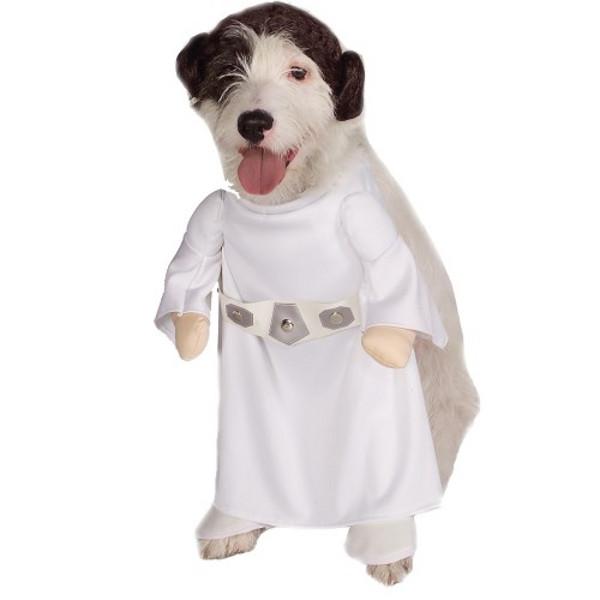 Star Wars Princess Leia Halloween Costume for Dogs