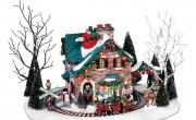 Christmas Village Santa's Wonderland House
