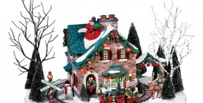 Christmas Village Santa's Wonderland House