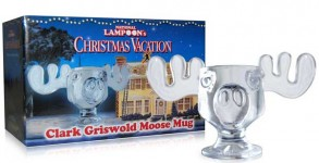 National Lampoons Glass Moose Mug