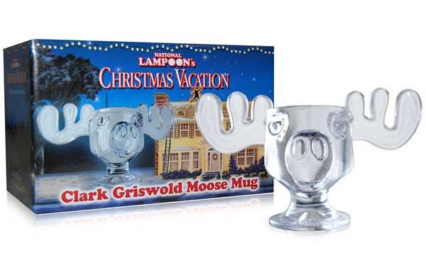 National Lampoons Glass Moose Mug