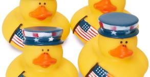 patriotic ducky